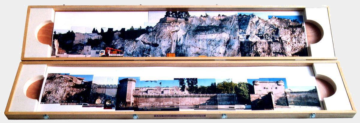 Un tour des remparts, panoramique photographique
