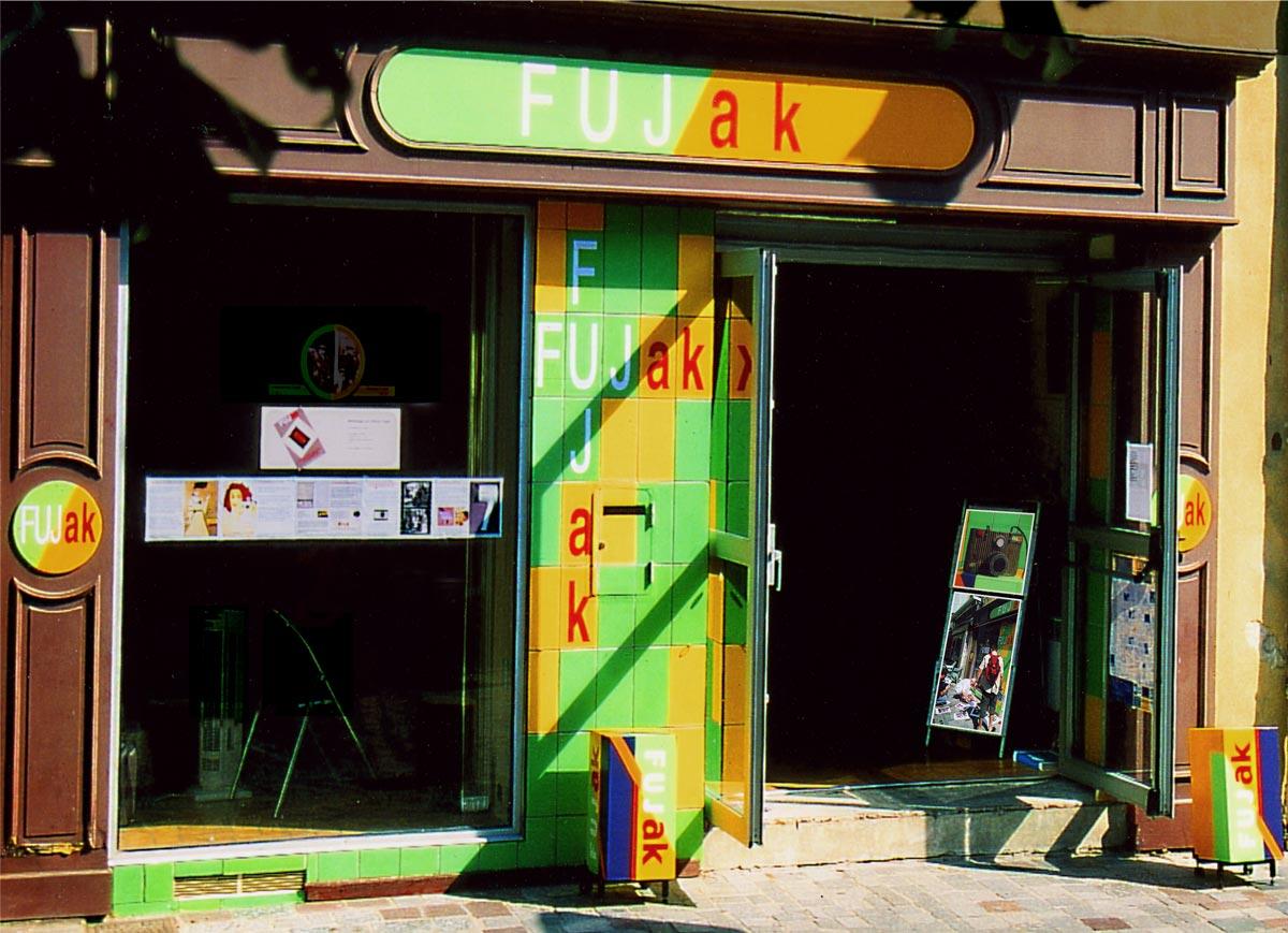 La boutique FUJak à Arles