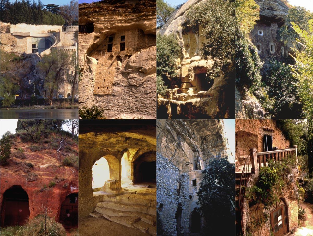 Le totem des troglodytes, les 8 sites présentés