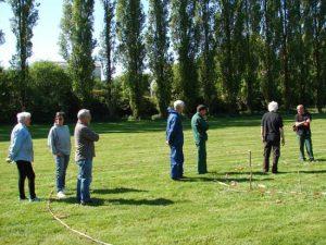 Les bénévoles et les jardiniers