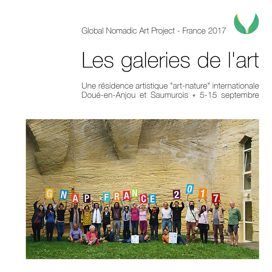 Catalogue de la résidence GNAP France 2017, organisée en Anjou, en septembre 2017.