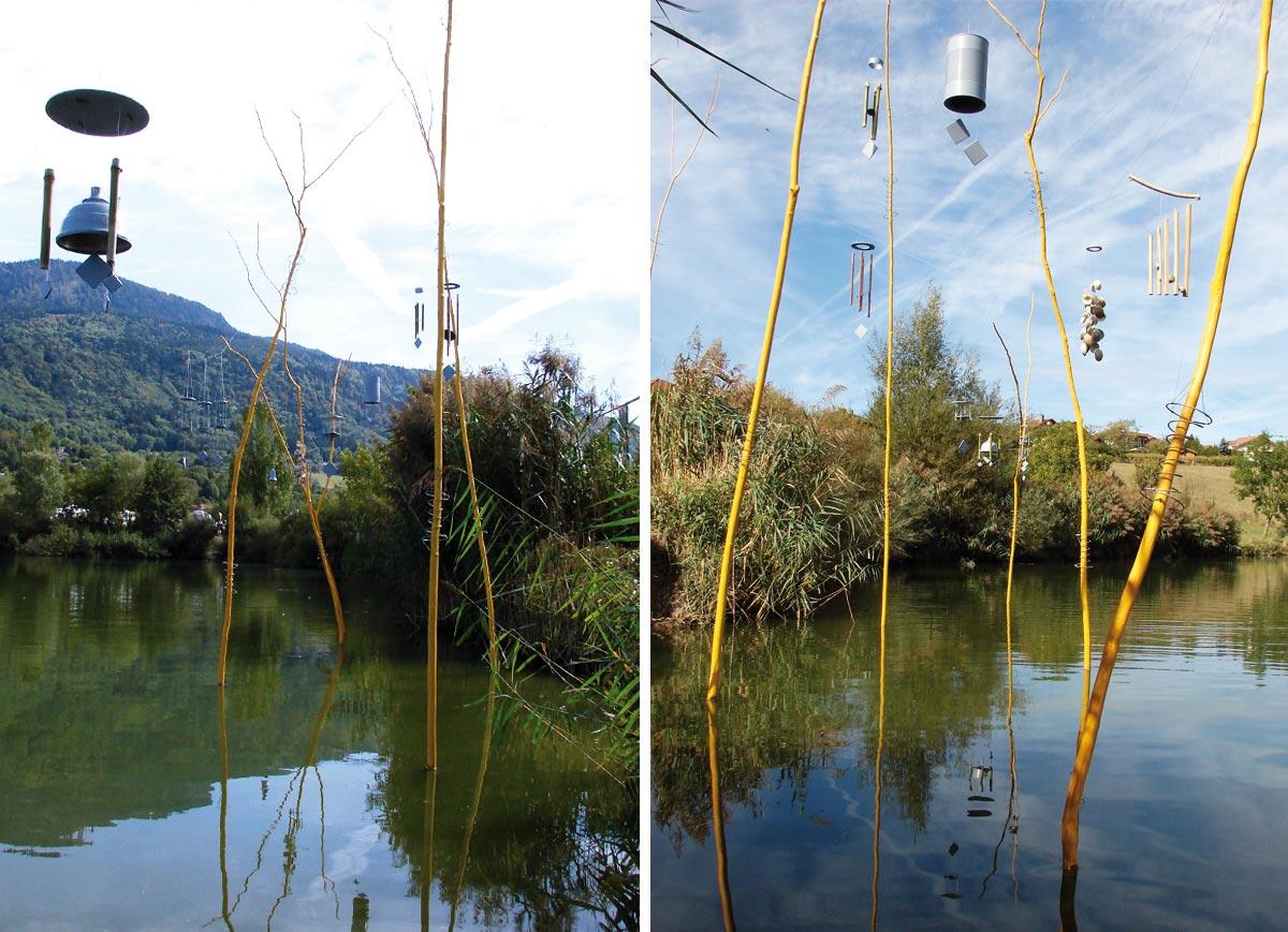 Sonne automne ! Festival Couleur(s) d'automne, lac de Machilly (Haute-Savoir) © les Fujak 2018