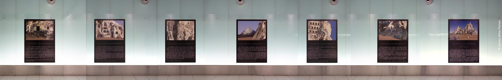 f(R)ictions souterraines, Festival Art Souterrain, Montréal © Olivier Huet 2019, photographie Mike Patten