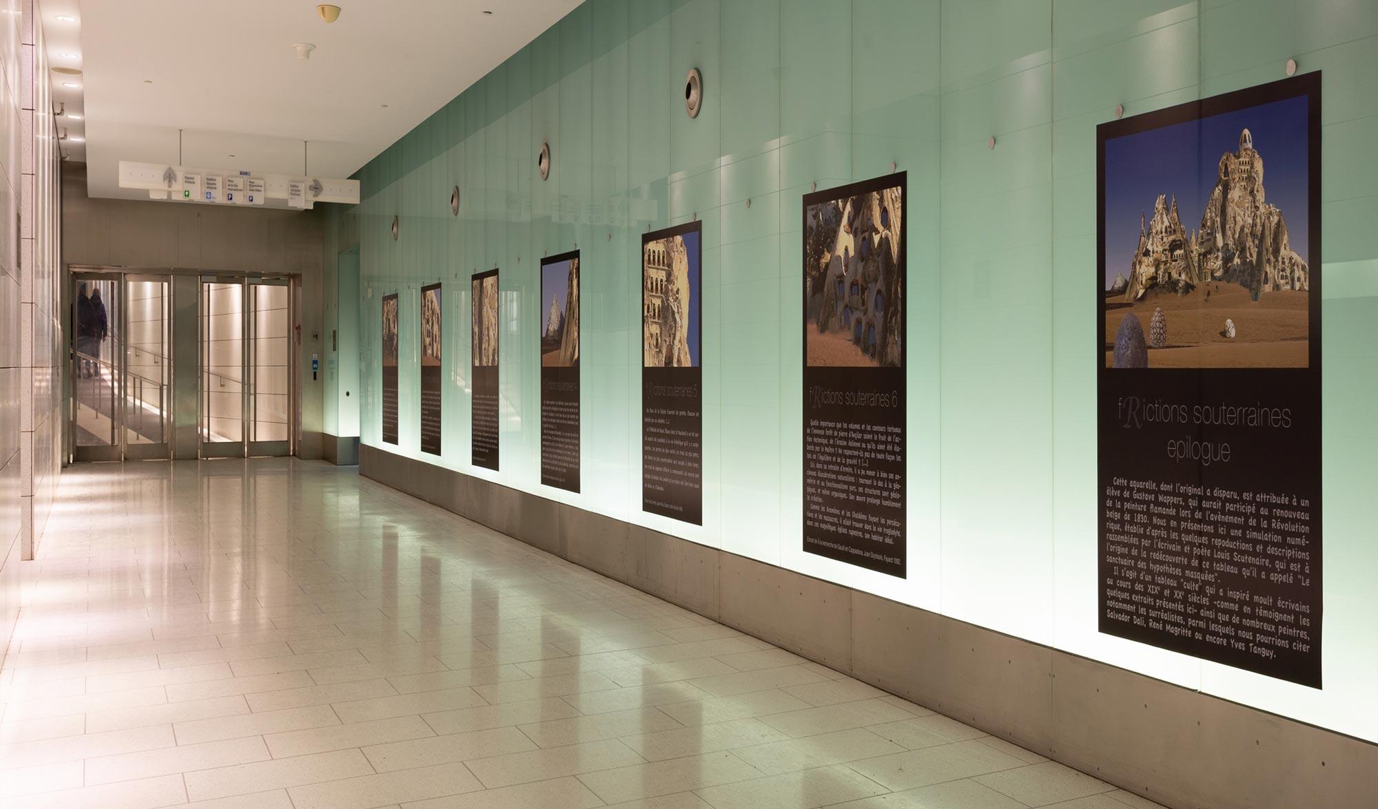 f[R]ictions souterraines, Festival Art Souterrain, Montréal © Olivier Huet 2019, photographie Mike Patten