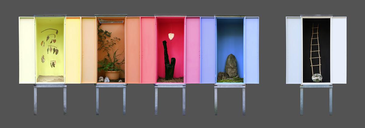 Good Bye Seasons!, Geumgang Nature Art Biennale, Corée du Sud © les Fujak 2020