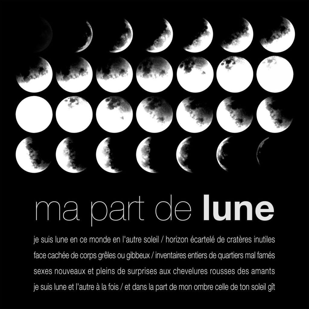 Mater / Ma part de lune, espace Beaujon, Paris © les Fujak 2010